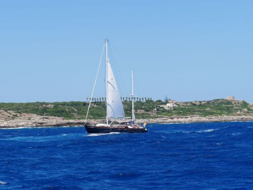 Dünung Mitsegler Menorca 2mb