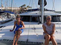 Ellen & Katrin nach dem Anleger