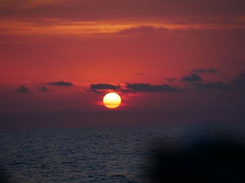 Schöne Sonnenuntergänge.
