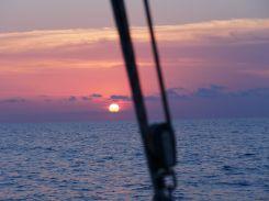 Sonnenuntergang Überfahrt nach Menorca2mp