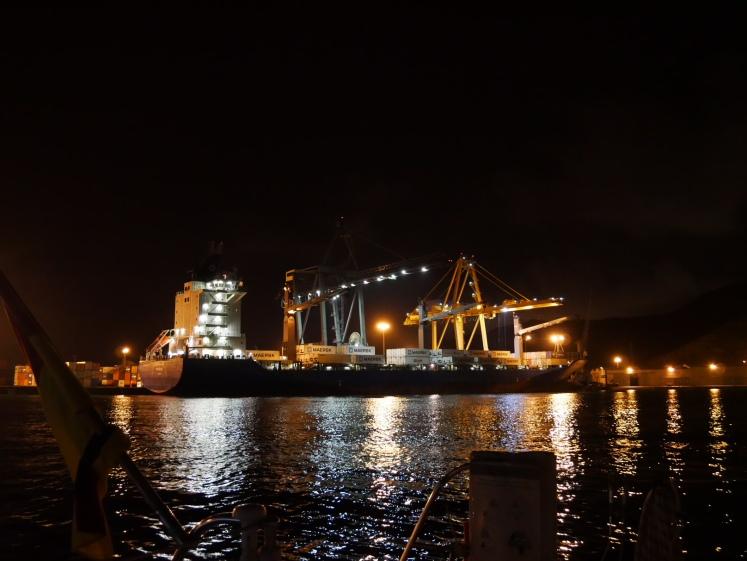Cartagena bei Nacht