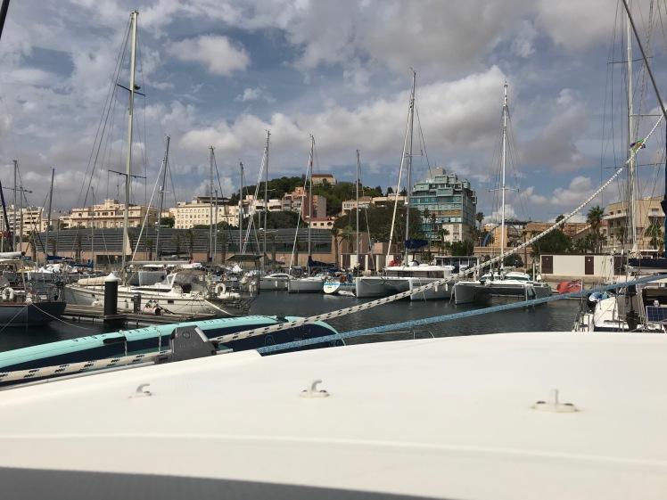 Cartagena vom Boot aus