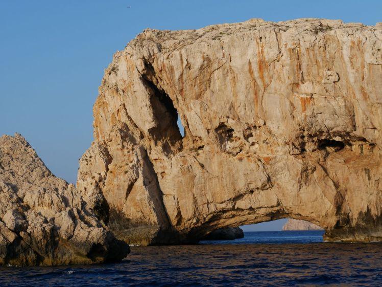 Felsen im Westen Ibiza