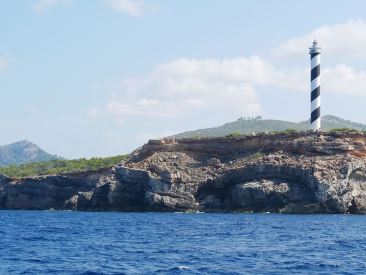Leuchtturm Portinatx