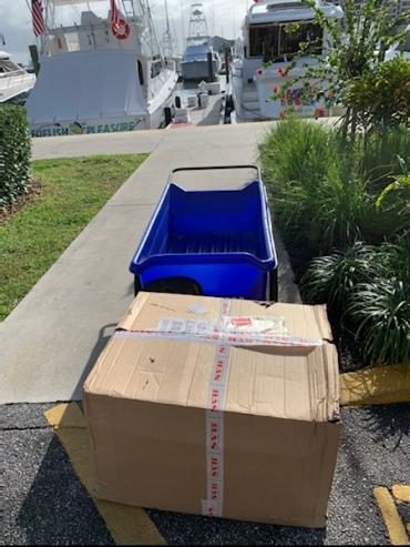 Paket von SVB aus Bremen....MwSt. frei!