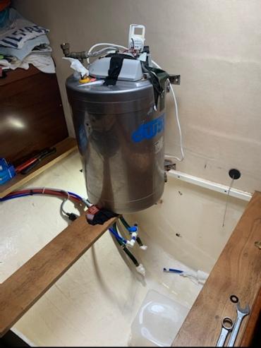Der neue Boiler...